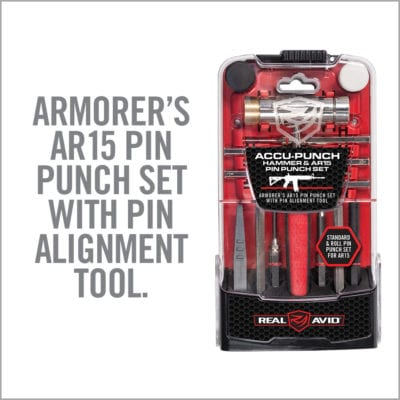 ACCU-PUNCH<sup>™</sup> HAMMER & AR15 PIN PUNCH SET