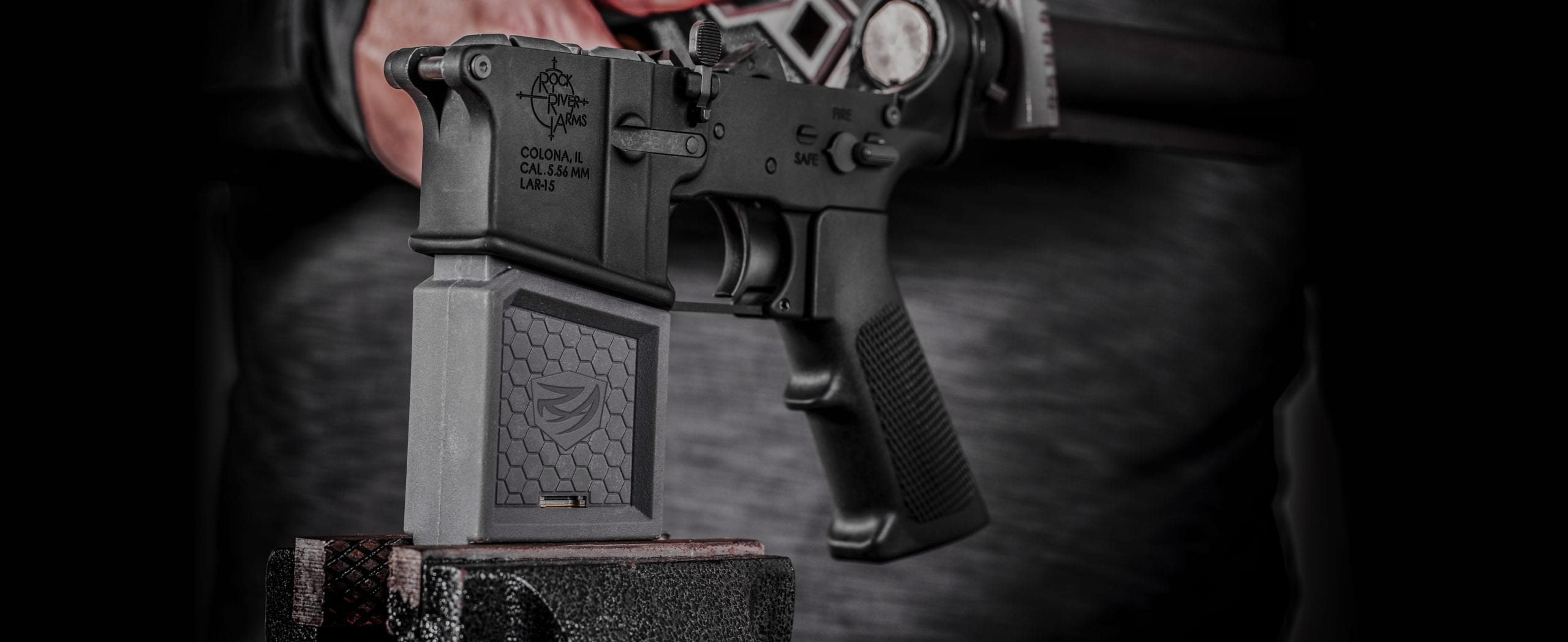 Smart Fit Vise Block with AR15