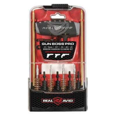 Real Avid GUN BOSS® PRO HANDGUN/PISTOL CLEANING KIT