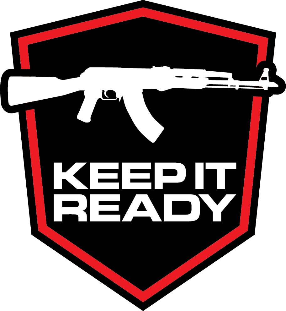 AK47 Keep It Ready Real Avid Logo