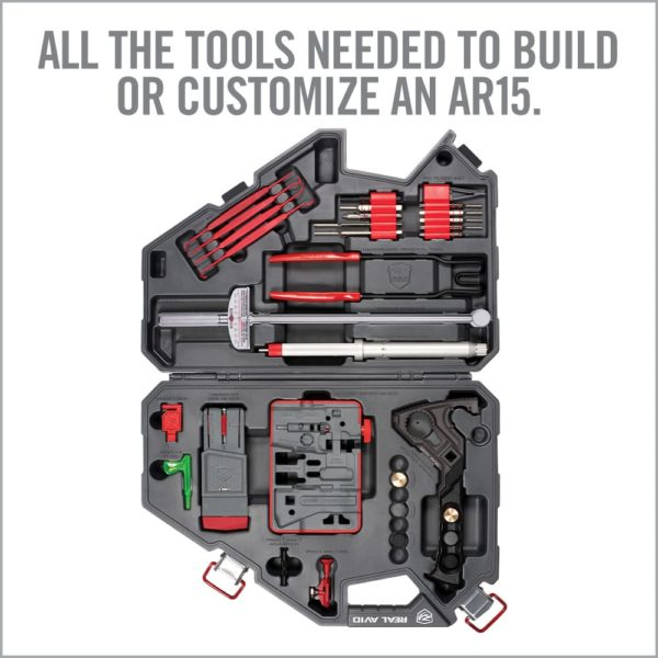 Real Avid Armorers Master Kit Open with All Tools