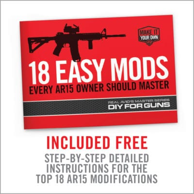 Picture of Real Avid 18 Easy Mods for Every AR15 Owner should Master Book
