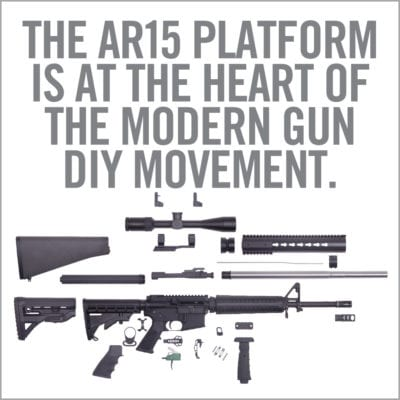 Real Avid AR15 Armorers Master Kit - AR15 Disassembled