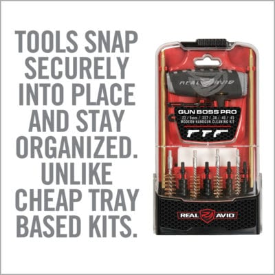 GUN BOSS® PRO HANDGUN CLEANING KIT