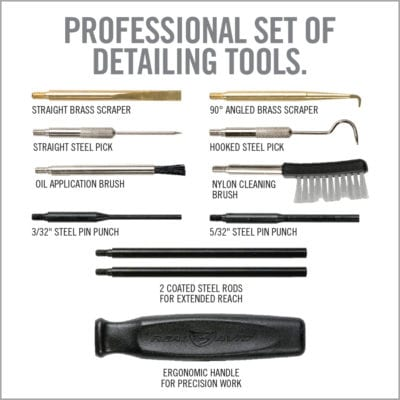 GUN BOSS<SUP>®</SUP> PRO PRECISION CLEANING TOOLS