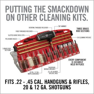 GUN BOSS® PRO - UNIVERSAL GUN CLEANING KIT