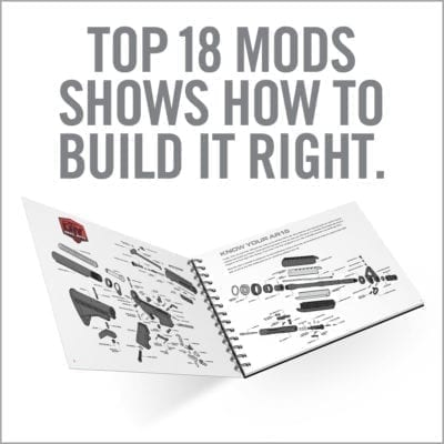 TOP AR15 MODS INSTRUCTIONAL BOOK