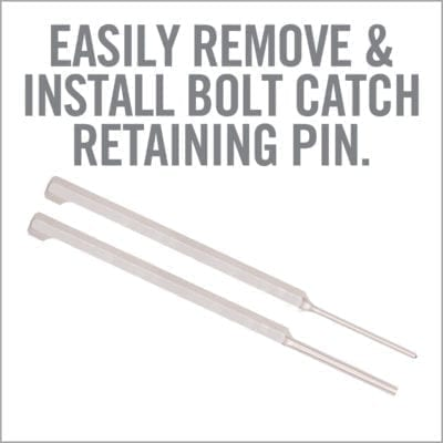 BOLT CATCH PUNCH SET