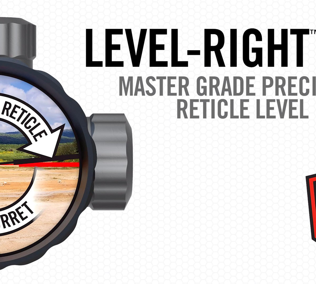 Level-Right Pro Level the Reticle Not the Turret