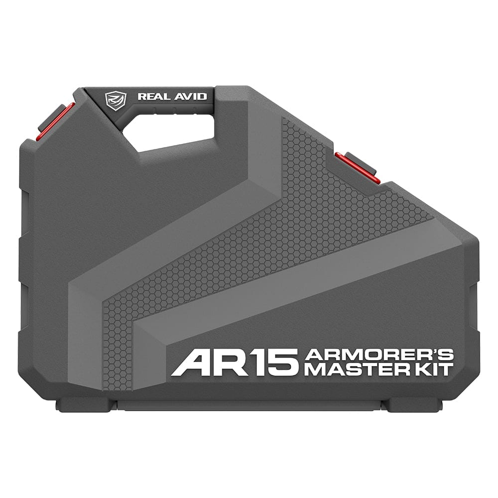 Real Avid AR15 Armorer's Master Kit Standing up Closed - Front View