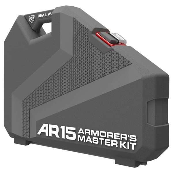 Real Avid AR15 Armorer's Master Kit Standing up Closed - Side View