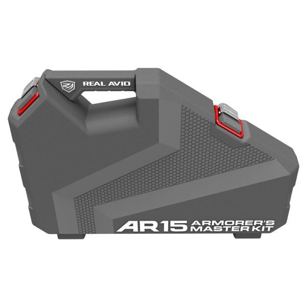 Real Avid AR15 Armorer's Master Kit Standing up Closed - Top View