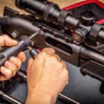http://Real%20Avid%20Smart%20Torq%20Precision%20driver%20in%20Use%20on%20Rifle%20Scope