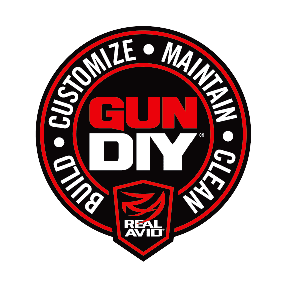 Real Avid Build Customize Maintain Clean GUN DIY Logo