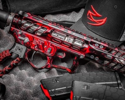 Real Avid Red AR15